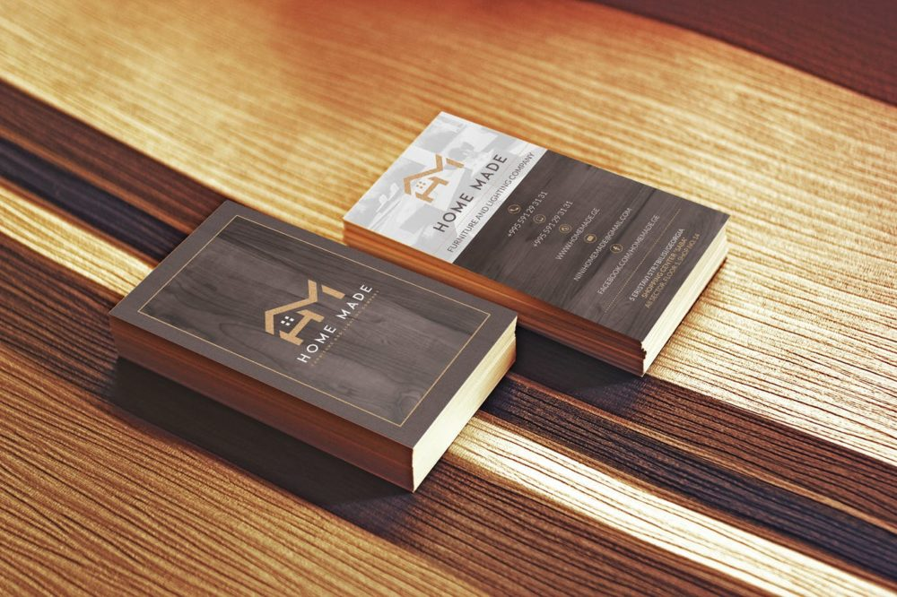 Wooden Business Cards   Printing Brooklyn