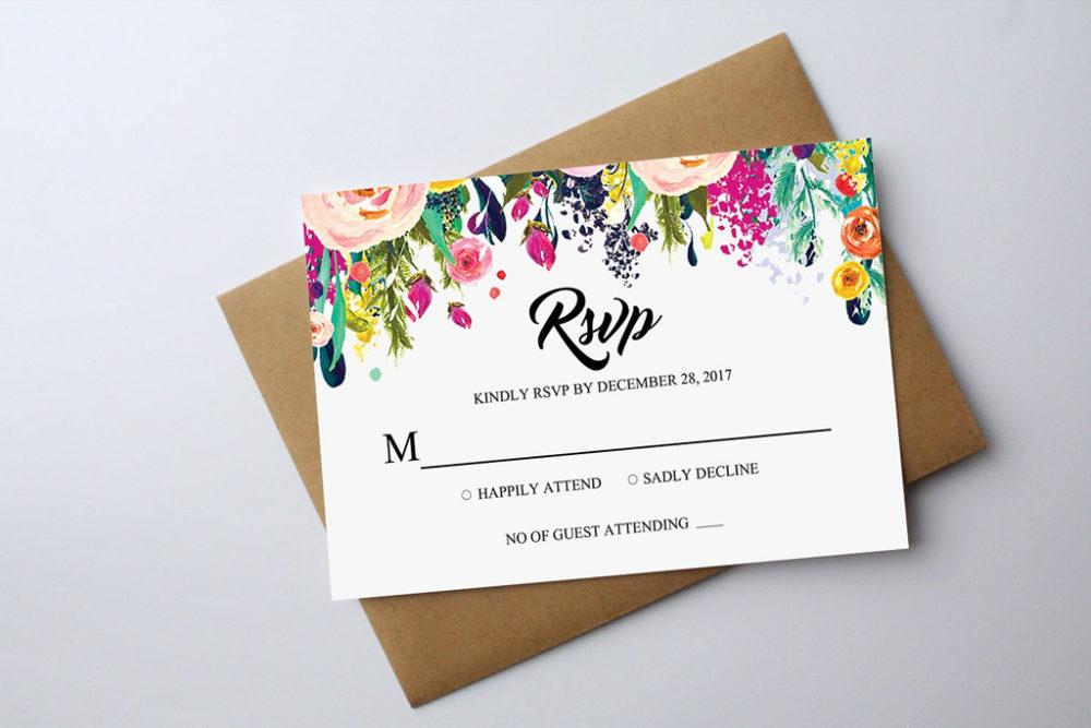 Glossy UV Invitations | Printing Brooklyn