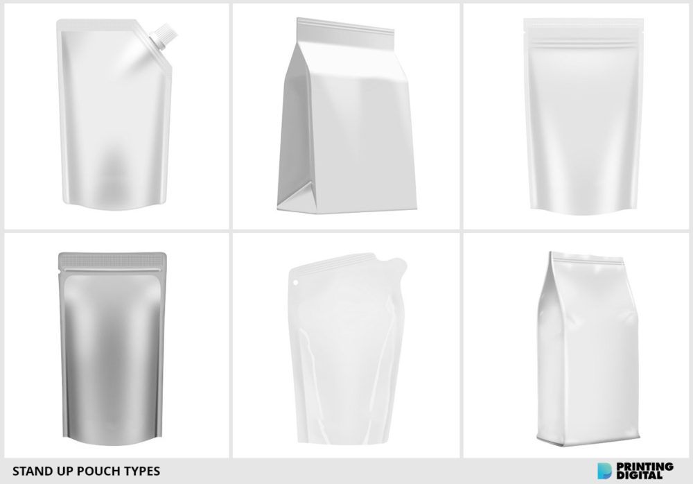 Stand Up Pouch Types