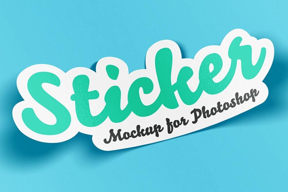 Stickers Mock Up   Printing Brooklyn